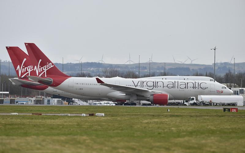 Virgin Atlantic has announced plans to resume flights from August - Getty