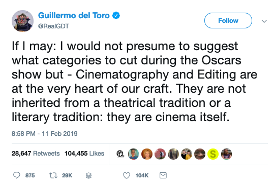 Scorsese, Tarantino And Spike Lee Have Criticized The Oscars Plan