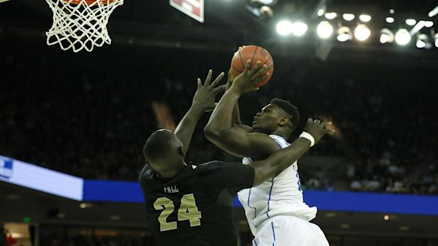 Duke held on for a narrow win over UCF in the round of 32 at the NCAA Tournament.