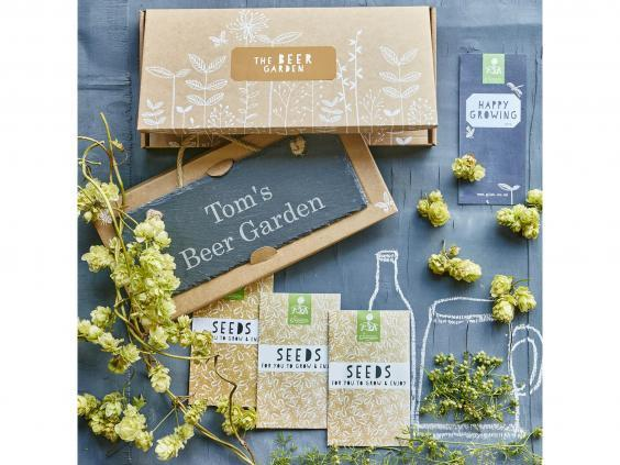 For a beer-lover looking to grow your own from the ground up, this gardening kit is perfect (The Gluttonous Gardener)