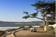 """<p>Overlooking the idyllic Central Coast, Carmel-by-the-Sea blends the relaxed spirit of California with the charm and beauty of Europe. A whimsical blend of English cottages and French bistros like <a href=""""https://laubergecarmel.com/"""" rel=""""nofollow noopener"""" target=""""_blank"""" data-ylk=""""slk:L'Auberge Carmel"""" class=""""link rapid-noclick-resp"""">L'Auberge Carmel</a> line the cobble streets as the waves of the ocean act as the town's soundtrack. Just past Ocean Avenue sits the sandy beaches and rugged Pacific coastline, offering quiet seaside sensibility. </p><p>Can't miss beautiful places: <a href=""""https://carmelmission.org/"""" rel=""""nofollow noopener"""" target=""""_blank"""" data-ylk=""""slk:Carmel Mission"""" class=""""link rapid-noclick-resp"""">Carmel Mission</a>, the Hansel and Gretel cottages, and <a href=""""http://www.parks.ca.gov/?page_id=571"""" rel=""""nofollow noopener"""" target=""""_blank"""" data-ylk=""""slk:Point Lobos State Reserve"""" class=""""link rapid-noclick-resp"""">Point Lobos State Reserve</a></p>"""