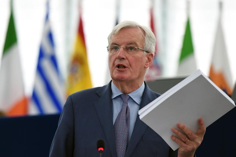 Michel Barnier said an extension required clarity from Parliament (AFP/Getty Images)