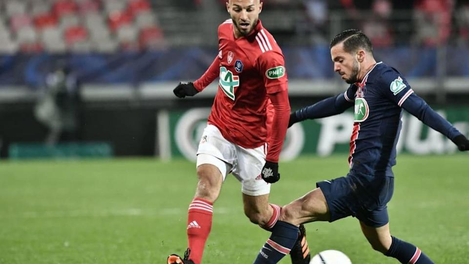 FBL-FRA-CUP-BREST-PSG | FRED TANNEAU/Getty Images