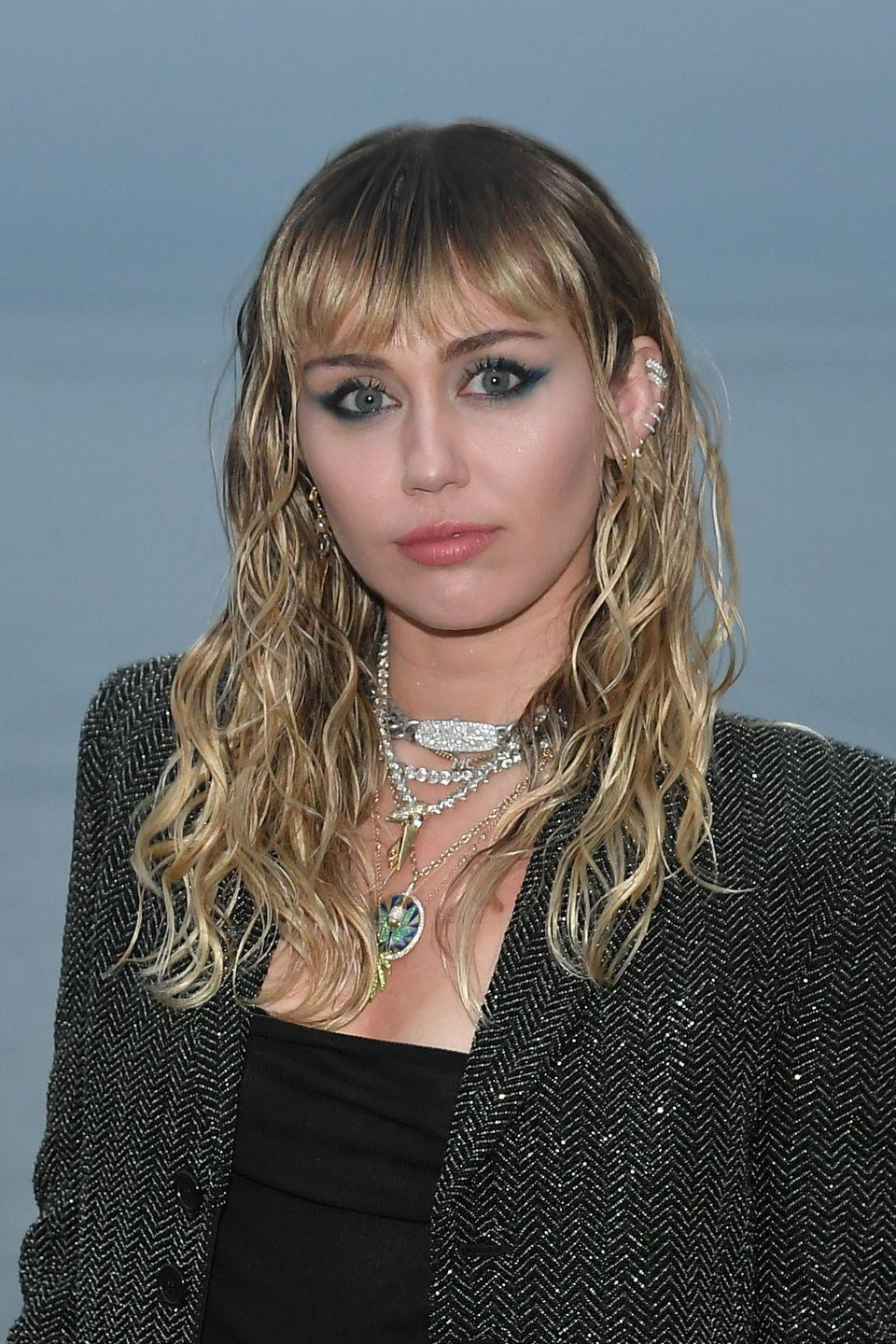 <p>Miley definitely acts like she's older than her mid-20s. Plus, the fact that we've watched her evolve from Hannah Montana to real-life pop superstar makes it feel like she's been around <em>forever</em>.</p>