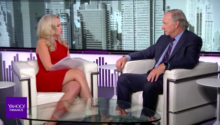 Hedge fund titan Ray Dalio shares his best financial advice for Millennials during an interview with Yahoo Finance's Julia La Roche.