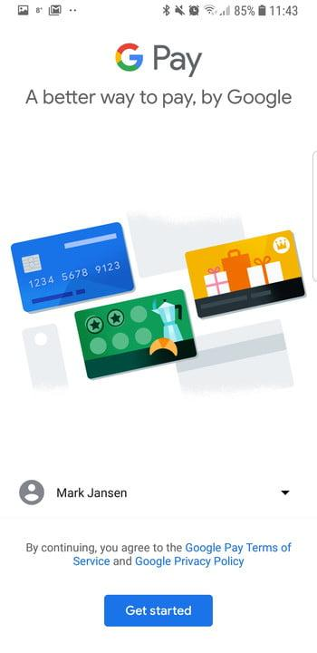 how to use google pay set up 2