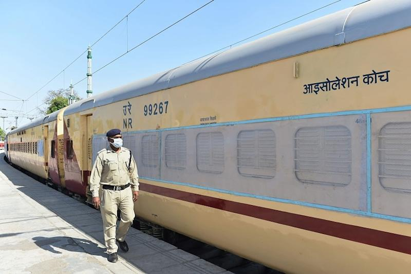 Alarm System Installed in Shakurbasti Rail Isolation Coaches for Covid-19 Patients