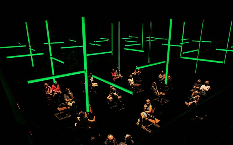 Blindness at the Donmar Warehouse - Helen Maybanks