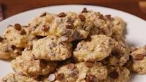 """<p>Don't let your cookie addiction sabotage your diet.</p><p>Looking for more ways to lighten up your faves? Try our <a href=""""https://www.delish.com/cooking/g1865/healthy-comfort-food/"""" rel=""""nofollow noopener"""" target=""""_blank"""" data-ylk=""""slk:50 healthier comfort foods"""" class=""""link rapid-noclick-resp"""">50 healthier comfort foods</a>.</p>"""