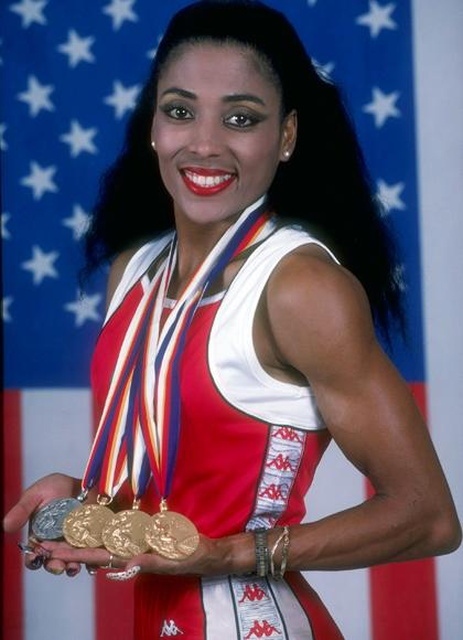 """When anyone tells me I can't do anything, I'm just not listening any more"" - Florence Griffith Joyner (The late American track and field athlete won three medals at the 1988 Olympic Games.)"