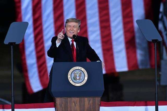 U.S President Donald J. Trump in Georgia
