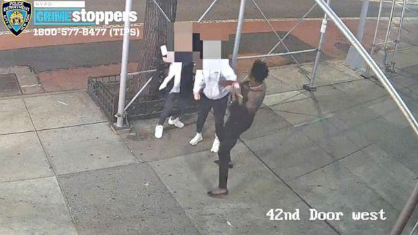 PHOTO: Two Asian females, 31 and 29, were walking on the sidewalk when an unknown individual demanded they remove their masks and then struck the 31-year-old in the head with a hammer causing a laceration on May 2, 2021 in New York City. (New York Police Dept.)
