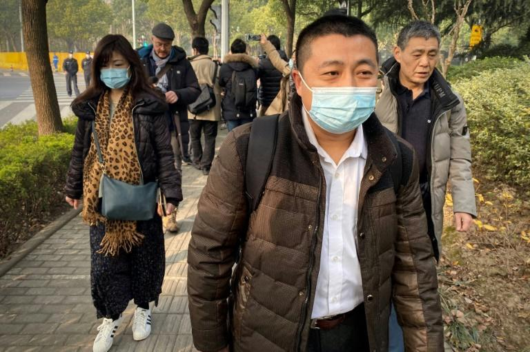 Zhang's lawyer Ren Quanniu said she looked 'devastated' when the sentence was read out