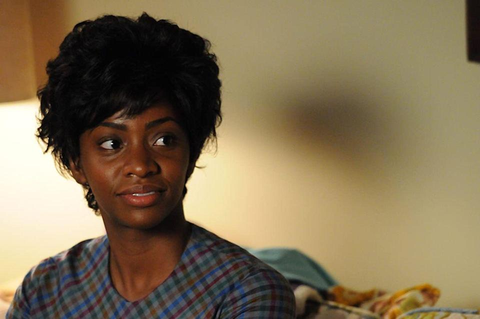 <p>Parris had a recurring role on Mad Men as Don Draper's secretary Dawn Chambers. She was the first black secretary hired by the fictional Sterling Cooper Draper Price firm. </p>