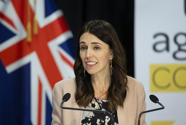 Prime Minister Jacinda Ardern is pictured.