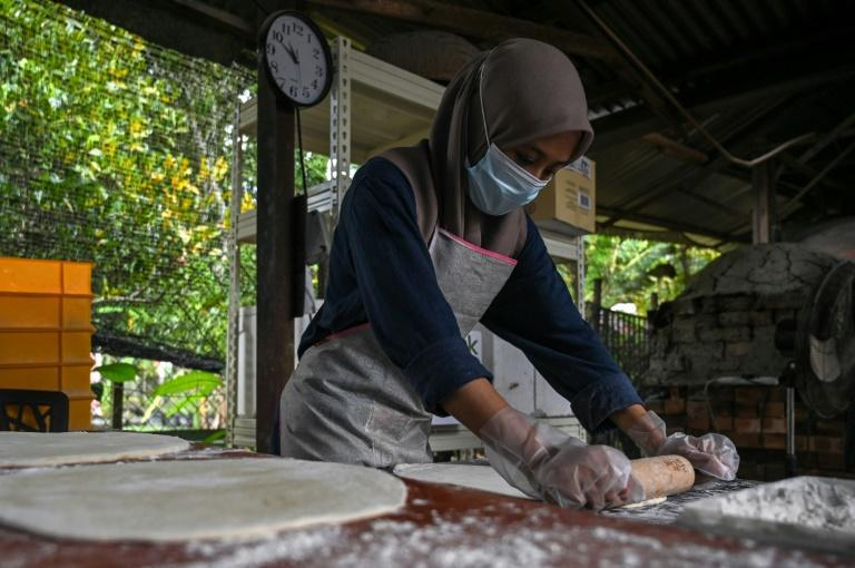 Starting off with just a small oven in their backyard, Raudhah Hassan's family now make 800 wood-fired pizzas daily