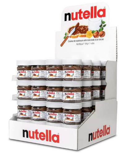 Mini vasetti Nutella