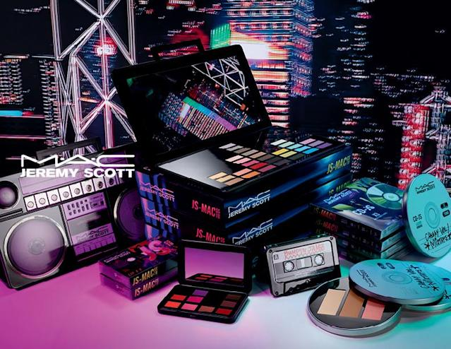 The MAC Cosmetics and Jeremy Scott collection is bolder than bold. (Photo: MAC Cosmetics)