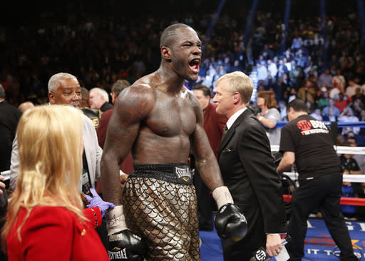 Deontay Wilder takes heavyweight title in star-making performance