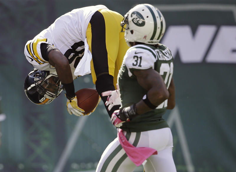 Jets' Cromartie gives himself 'C' for subpar start