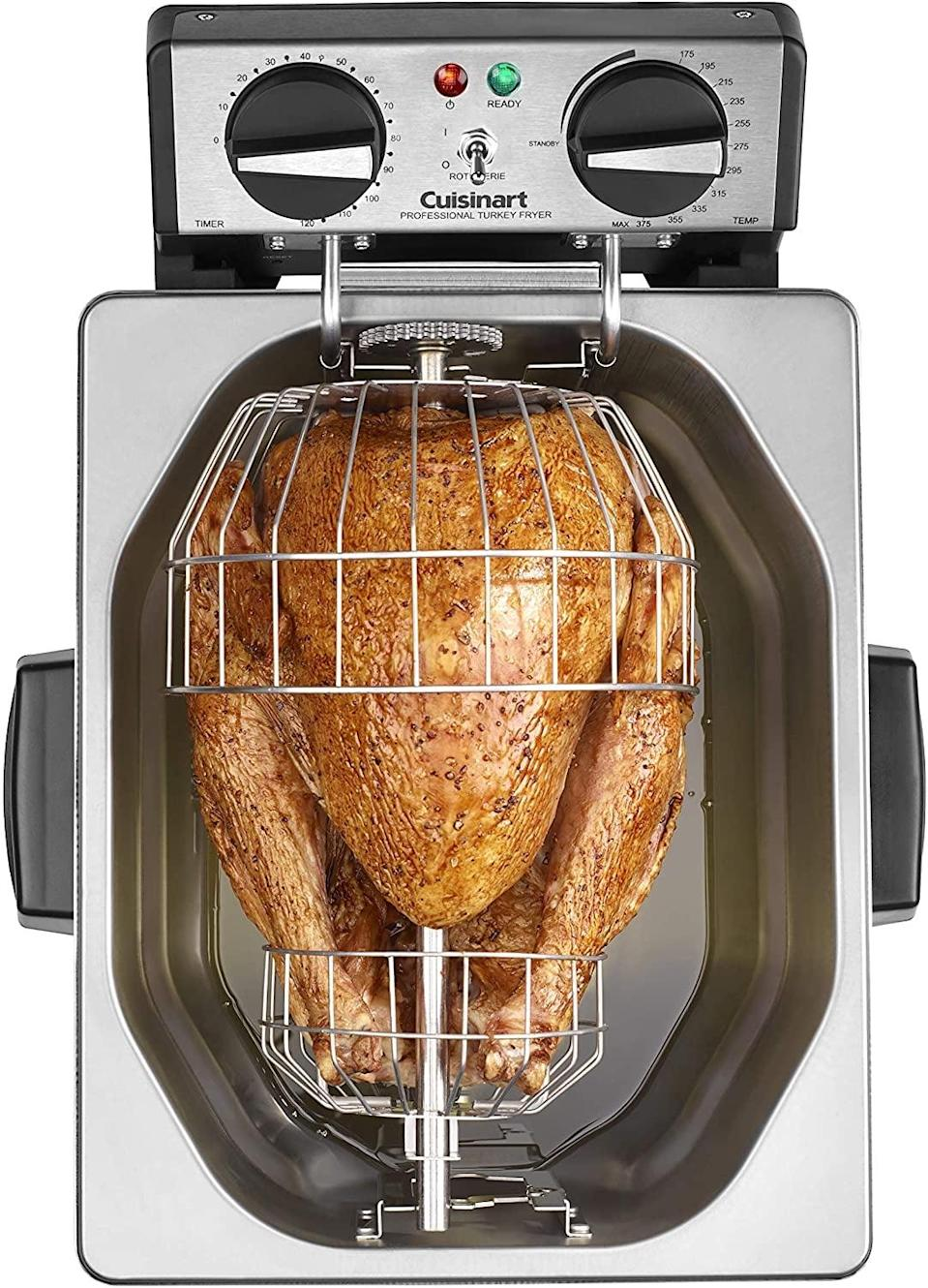 <p><span>Extra-Large Rotisserie Deep Fryer</span> ($120, originally $300)</p>