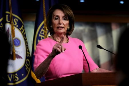 Pelosi on Trump insults: 'I'm done with him'