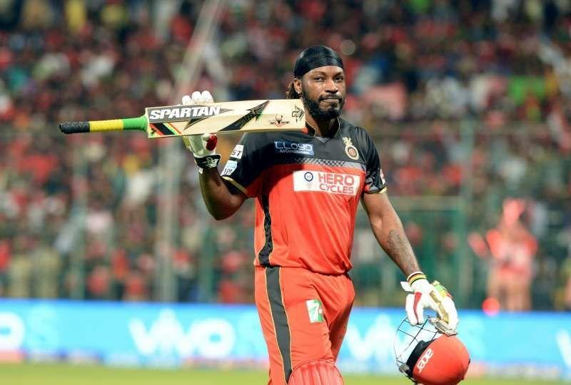 Gayle is the only batsman to have hit over 300 sixes in IPL cricket.
