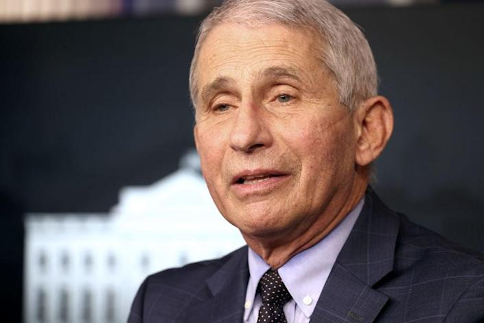 Dr Anthony Fauci says he thinks the firm has made an 'unforced error' (Getty)