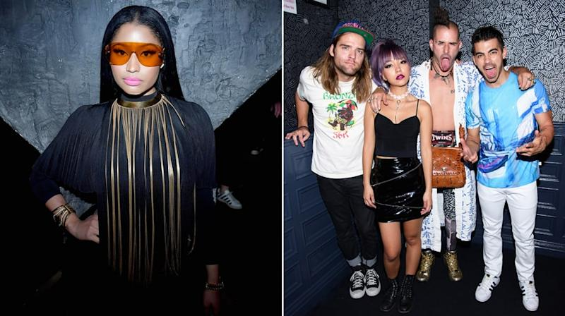 Hear Nicki Minaj, DNCE's Funky 'Kissing Strangers'