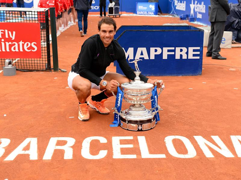 Nadal has won the Barcelona Open a record ten times: Getty