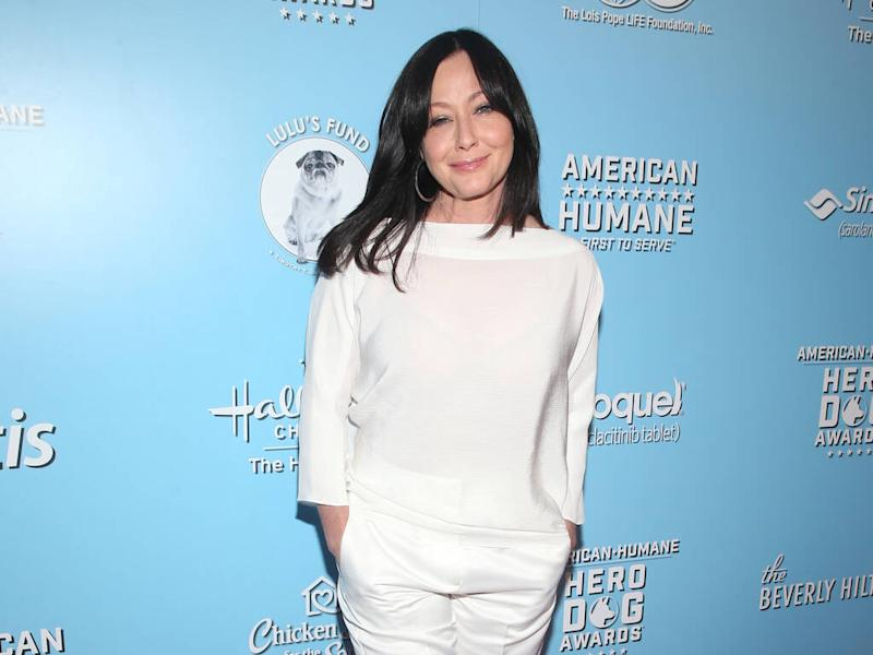 Shannen Doherty 'digging deep' for strength amid cancer battle