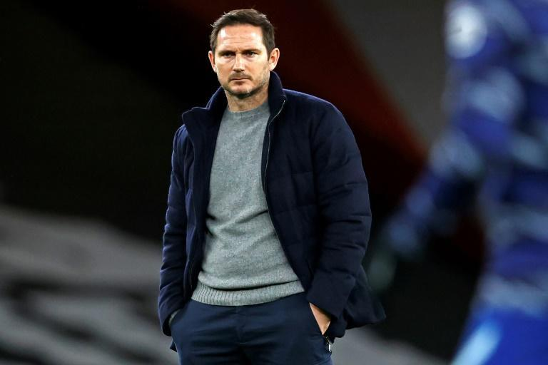 Frank under fire: Pressure is mounting on Chelsea manager Frank Lampard after three defeats in four games