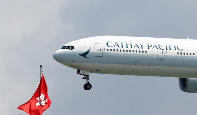 Cathay is operating a skeleton flight schedule amid the near-total collapse of passenger flights during the Covid-19 pandemic. Photo: Reuters
