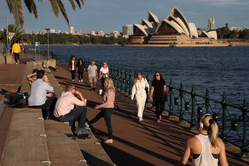 Australia's most populous state to relax restrictions on hospitality sector