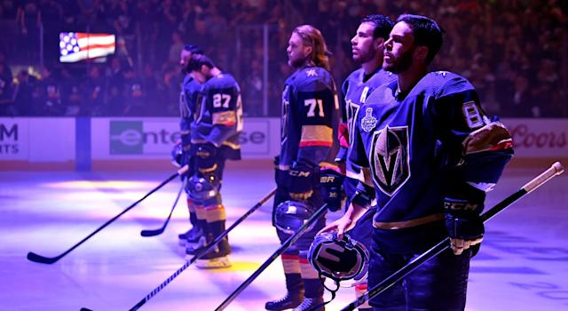 Preventing a dip will be a difficult task for the Vegas Golden Knights. (Getty)