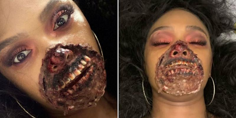 A Woman's Intricate Zombie Makeup Was Mistaken for an Actual Medical Emergency