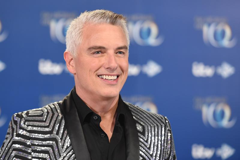 "Barrowman recently debuted his ""silver fox"" hairstyle. (Getty Images)"