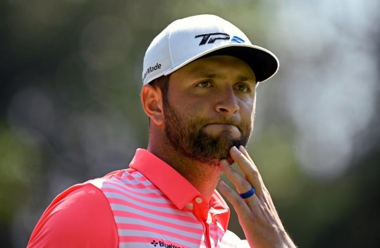 Spanish golfer Jon Rahm was forced to withdraw while leading Memorial