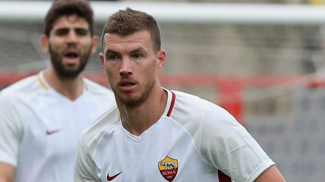 The Roma striker was heavily linked with a move to Stamford Bridge during the January transfer window, but he opted to remain in Italy