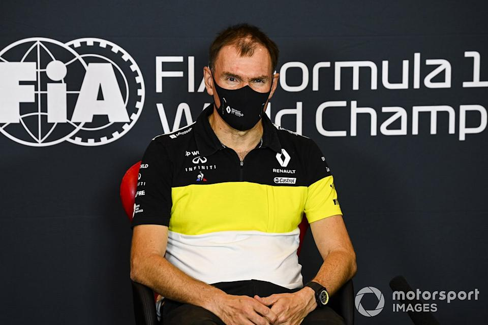 """Alan Permane, Sporting Director, Renault Sport F1 Team, in a Press Conference<span class=""""copyright"""">Mark Sutton / Motorsport Images</span>"""