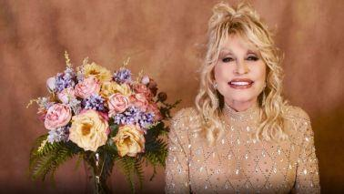 Dolly Parton at the 56th Academy Of Country Music Awards - Show