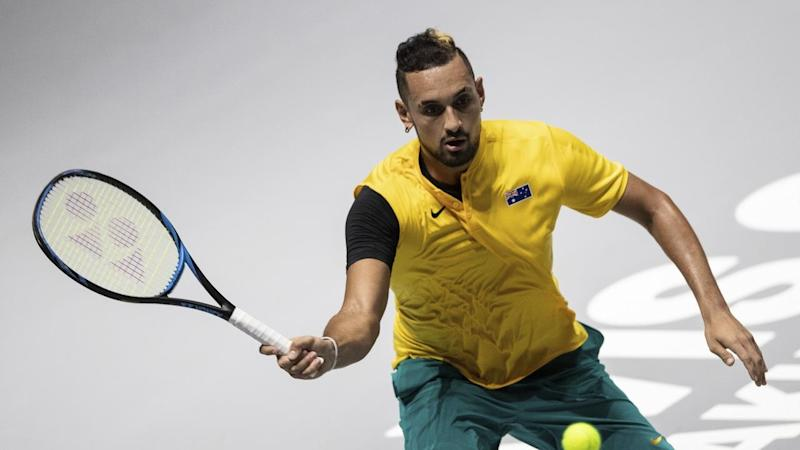 Nick Kyrgios will sit out Australia's Davis Cup quarter-final against Canada