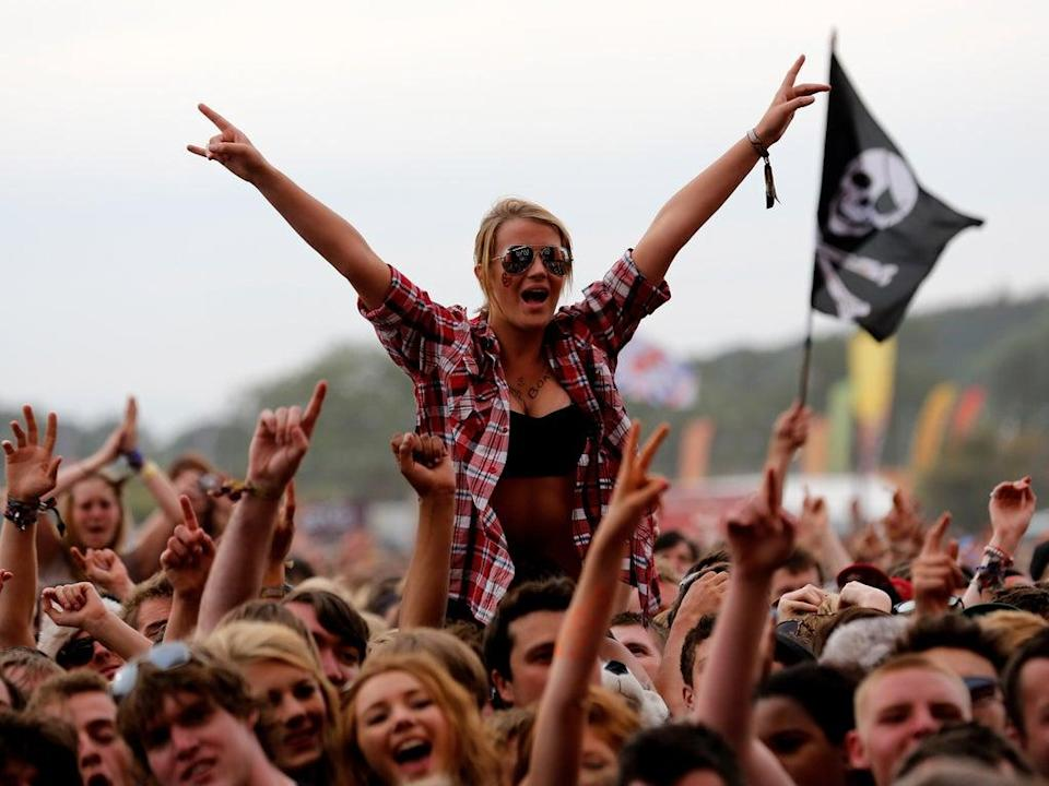 Music fans are returning to Reading and Leeds for the first time in two years after last year's festivals were cancelled (Getty Images)