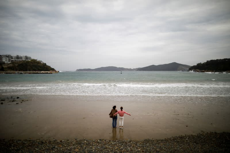 The Wider Image: For South Korea's youngest 'sea women', warming seas mean smaller catches