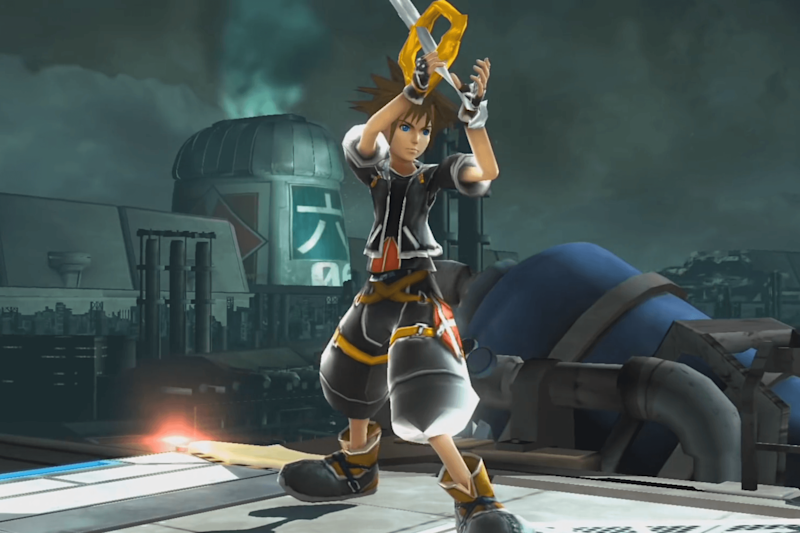 Modification adds Sora from 'Kingdom Hearts' to 'Super Smash Bros.' for Wii U