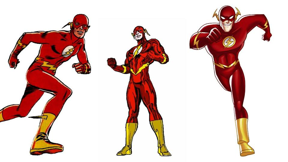The Scarlet Speedster has needed few changes to his iconic costume over the decades.