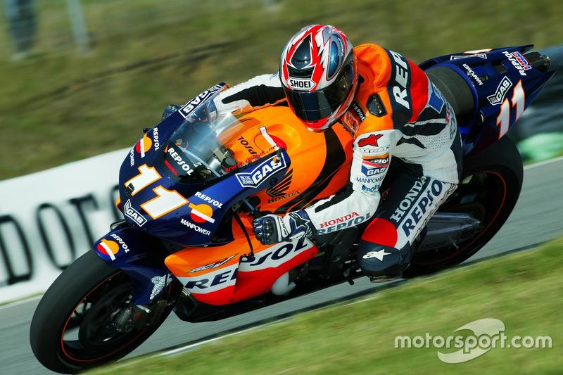 "Tohru Ukawa, Repsol Honda Team 2002<span class=""copyright"">Gold and Goose / Motorsport Images</span>"