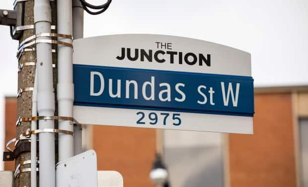 A city report recommending the renaming of Dundas Street will go before the city's executivecommittee on July 6.  (Michael Wilson/CBC - image credit)