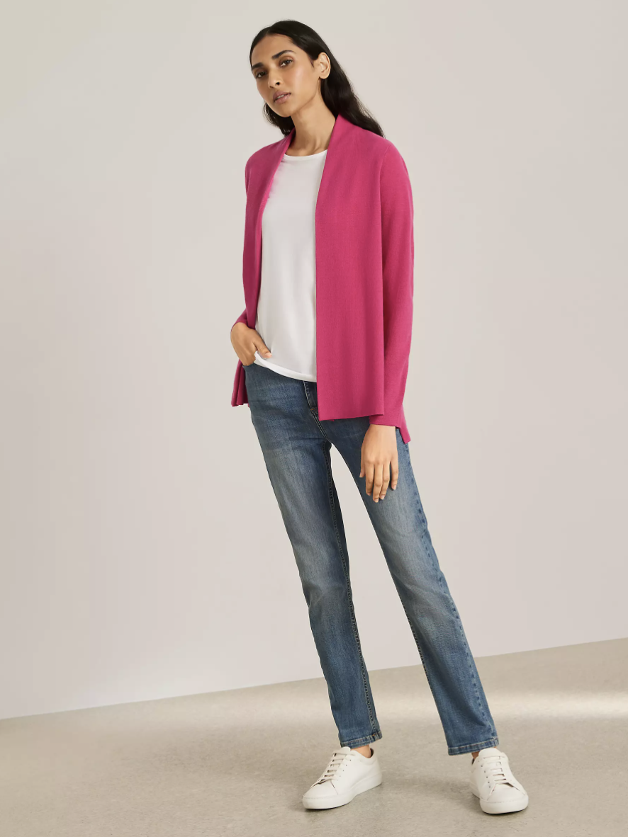 The affordable cardigan comes in 11 different colours. (John Lewis & Partners)