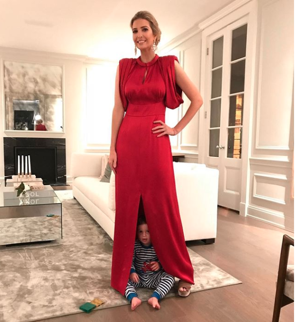 Ivanka Trump has been slammed online for posting this photo. Photo: Instagram